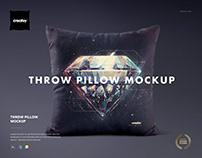 Throw Pillow Mockup