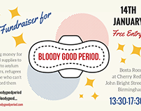 Bloody Good Period Fundraiser