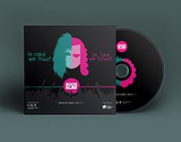 IBP - 'Rock&Law' CD design and print
