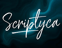 SCRIPTYCA - FREE BOUNCY BRUSH FONT