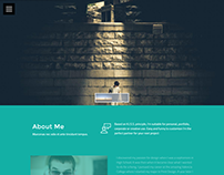 Kurr - Personal Resume and Portfolio Theme