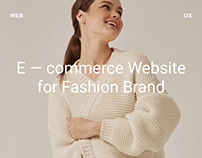 """Website and Logo for Fashion Brand """"SHÚMOS"""""""