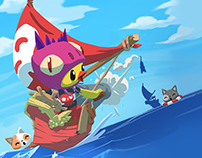 """""""Ship Ahoy!"""" by Okam"""