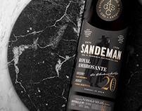 SANDEMAN SHERRY PREMIUM & RARE — Packaging