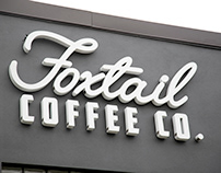 FoxTail Coffee Sign / Channel Letters