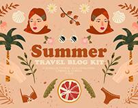 Summer Travel Blog Kit