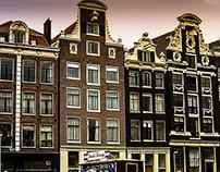 BUILDINGS OF AMSTERDAM.
