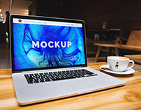 Free Macbook Pro Mockups Collection