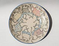 Dancing Mice Plates