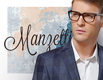 Manzetti. Italian brand of men's wear