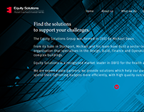 Equity Solutions Group Website Build