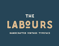 Labours Handcrafted Typeface