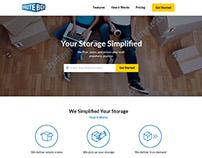 BruteBox Website Design Concept