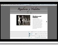 Web design - Rumberas y Vedettes
