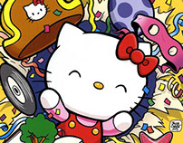 Hello Kitty children's Comic Book