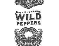 """Логотип для Клубу Байкерів """"Wild Peppers"""""""