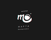 "Логотип фотографа ""Marta"""