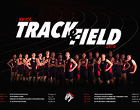 Men's Track and Field Team Poster