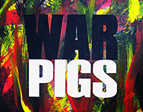 War Pigs - At The Power - Poster Design