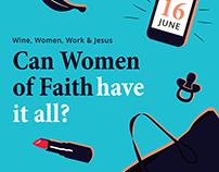 Invitation Design: Women's event III