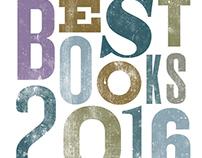 Best Books Lettering for Library Journal Magazine