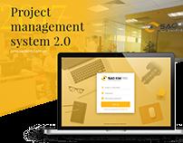 Projects management web app
