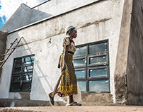 Kenyans at work, Construction site, Bungoma, Kenya
