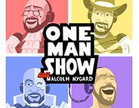 One Man Show Logo