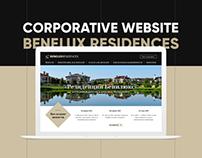Benelux Residences. Corporative website