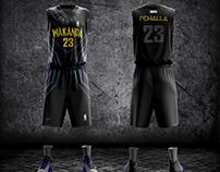 Black Panther Concept Design Basketball Uniform