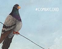 Combat Covid Poster