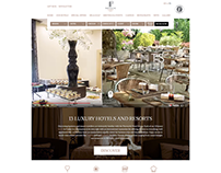 Partouche Hotels - Homepage Redesign