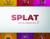 SPLAT Social Media Visuals vol3