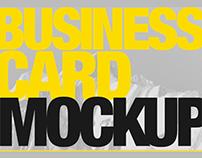 3 FREE Business Card Mockups