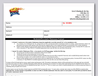 Love's Heating & Air Policy Form