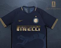 Inter 3rd Shirt Nike Concept 2018/19