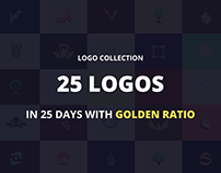 Logo Collection with Golden Ratio 2016