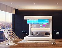 856-01-Futuristic Mockup Hotel Room