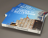 Book design and infographics The port of Rotterdam