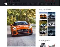 Car Review Page - Mechanic WordPress Theme