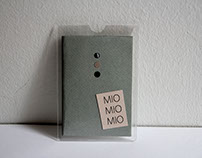 .. MIO MIO MIO .. Fanzine individual . Barcelona 2017