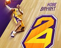 Kobe Bryant - New logo 8+24