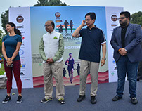 Kartikeya Sharma at 'The Great India Run' 2016