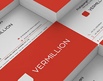 Vermillion Group Brand Identity