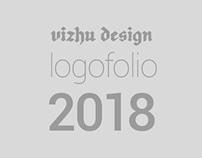 Vizhu Design Studio. Logofolio 2018.