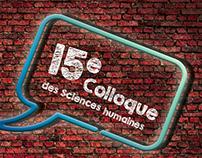 Affiche Colloque des sciences humaines