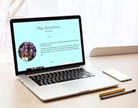 A personal portfolio (example)