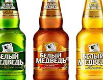 EFES / WHITE BEAR / Family retouching / Banks in bottle