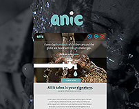 anic - email marketing design
