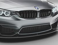 BMW M4 studio